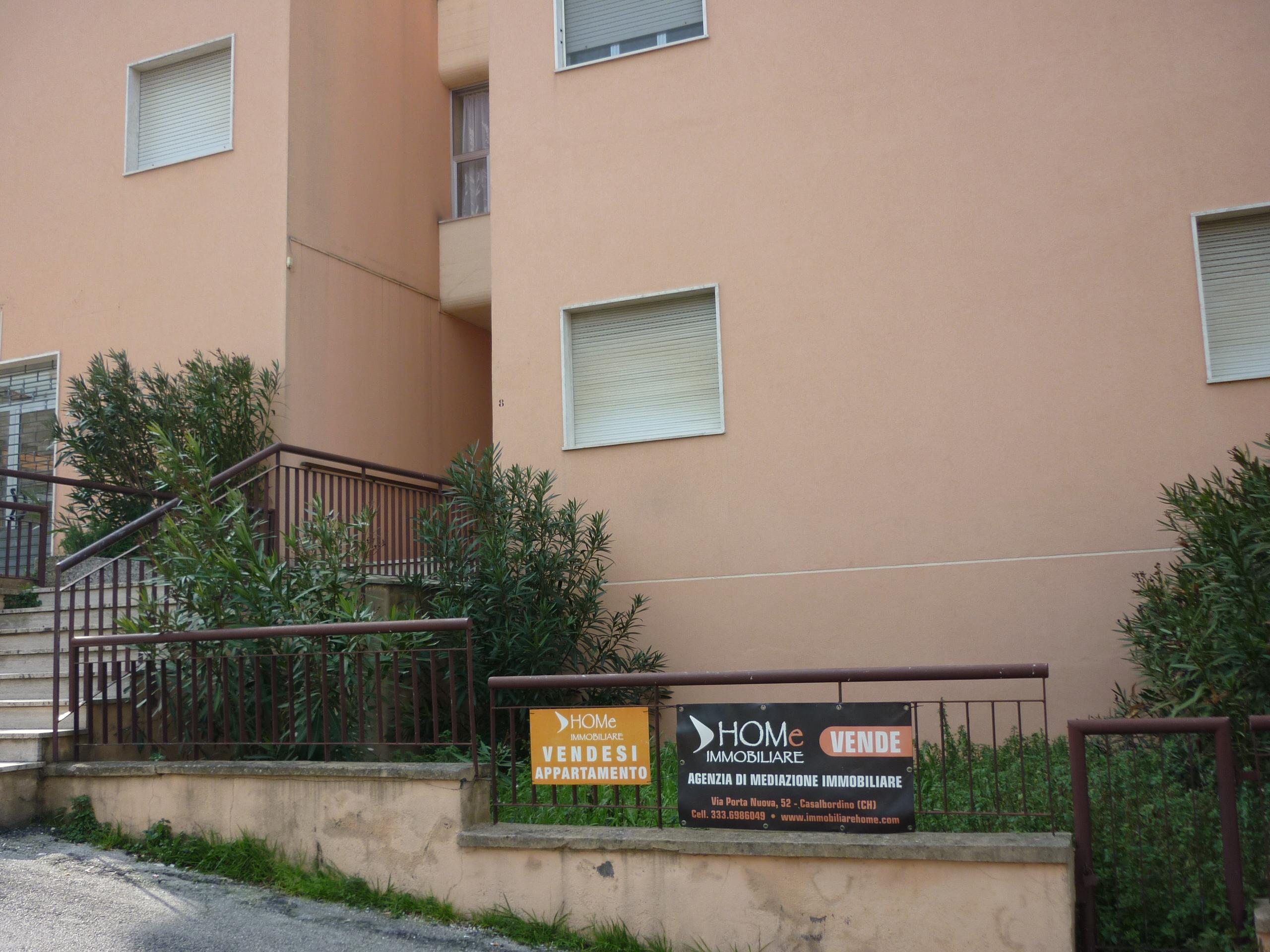 Luminoso appartamento in zona centrale a Casalbordino